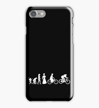 Bike Women's Evolution of Cycling iPhone Case/Skin
