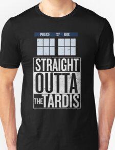 Straight Outta The Tardis Unisex T-Shirt