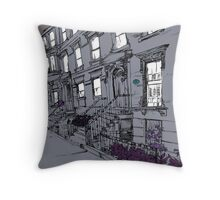 Brooklyn Heights by night Throw Pillow