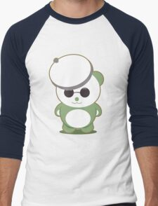 French Panda Men's Baseball ¾ T-Shirt