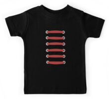 laced up red  Kids Tee