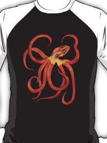 Orange Octopus T-Shirt