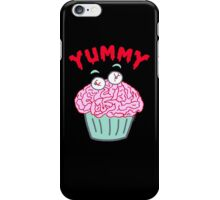 Brain Cupcake For Zombies  iPhone Case/Skin