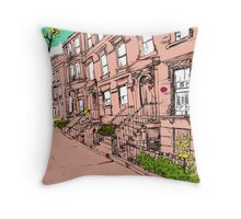 Brooklyn Heights by day Throw Pillow