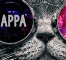 Kappa Delta Cat Sticker