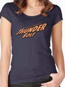 Thunder Bolt Women's Fitted Scoop T-Shirt
