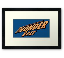 Thunder Bolt Framed Print