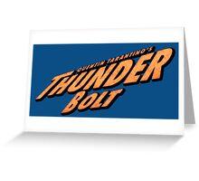 Thunder Bolt Greeting Card