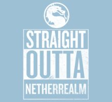Straight Outta NetherRealm Kids Clothes