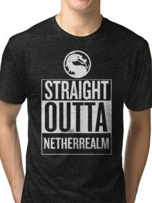 Straight Outta NetherRealm Tri-blend T-Shirt