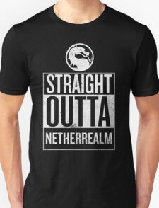 Straight Outta NetherRealm Unisex T-Shirt