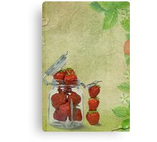 Strawberry Jam Canvas Print