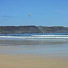 Making Waves - Tolsta Beach by kathrynsgallery