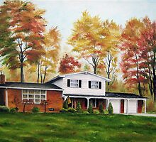 At Home In The Fall by Jim Parker