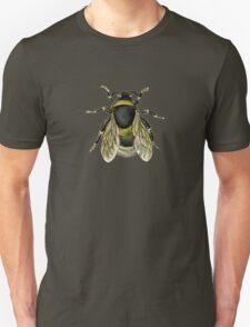 antique typographic vintage honey bee Unisex T-Shirt