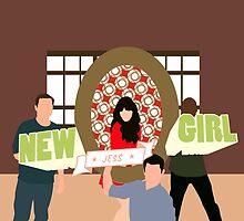 New Girl by joeredbubble