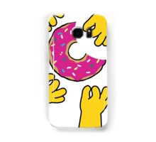 Simpson's Doughnut Samsung Galaxy Case/Skin