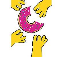 Simpson's Doughnut Photographic Print