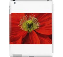 Poppy. iPad Case/Skin
