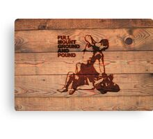 Branded Full Mount Ground and Pound Canvas Print
