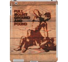 Branded Full Mount Ground and Pound iPad Case/Skin