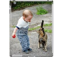 Hello, would you like to play? iPad Case/Skin