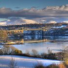 Menai Bridge, Anglesey, Christmas Eve 2010 by Julian Easten