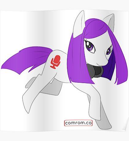 My Little Pony OC by KlockworkKat Poster