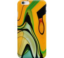 The Day The Mural Escaped From The Canvas iPhone Case/Skin