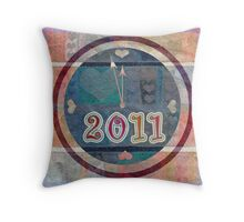 happy new year 2011 Throw Pillow