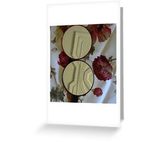 mirrorglass-ceiling Greeting Card