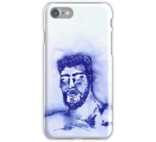 Blue Man  iPhone Case/Skin
