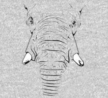 Elephant Skin One Piece - Short Sleeve