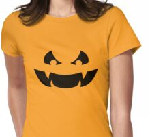 Scary Jack O Lantern Womens Fitted T-Shirt