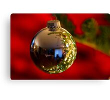 Christmas Reflections Canvas Print