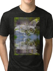 Mirrored Butterflys Tri-blend T-Shirt