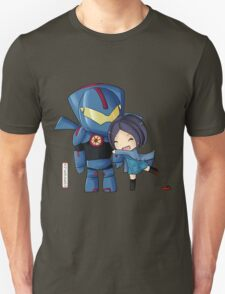 Pacific Rim- Mako Mori and Gipsy Danger Chibi by KlockworkKat T-Shirt