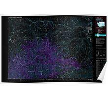 USGS Topo Map Washington Clarkston 240545 1981 100000 Inverted Poster