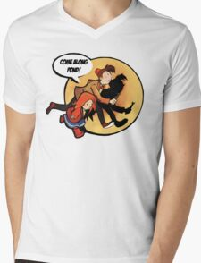The Adventures of Pond and Doctah Mens V-Neck T-Shirt