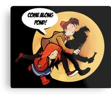The Adventures of Pond and Doctah Metal Print