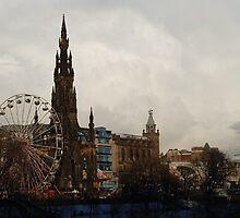 Edinburgh Winter Wonderland by justbmac