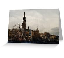 Edinburgh Winter Wonderland Greeting Card