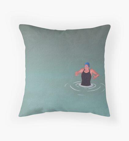 Wader Throw Pillow