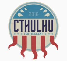 Cthulhu for President 2016 Kids Tee