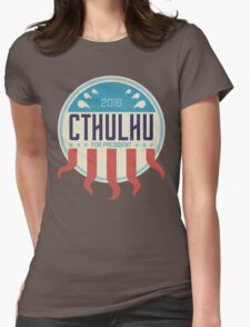 Cthulhu for President 2016 Womens Fitted T-Shirt