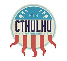 Cthulhu for President 2016 Photographic Print
