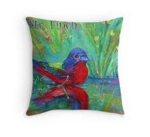 Mr. Finch Throw Pillow
