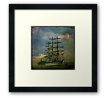 Tall Ship, New York Harbor, 1976 Framed Print