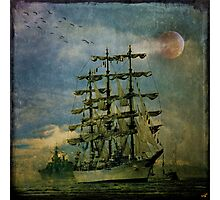 Tall Ship, New York Harbor, 1976 Photographic Print