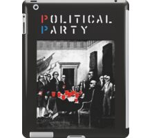 Political Party! shirt (and other items available too) - Choose shirt style/color! (tshirt with red solo solos, shades, beer pong)  iPad Case/Skin